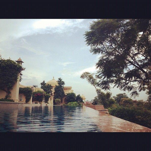 Pool at The Oberoi Udaivilas, Udaipur, India