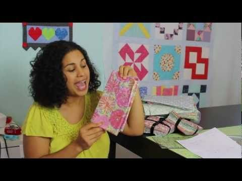 Video - Introduction to video quilt along by Gifford Gemini featuring Victorian Modern fabric line by Andover Fabrics