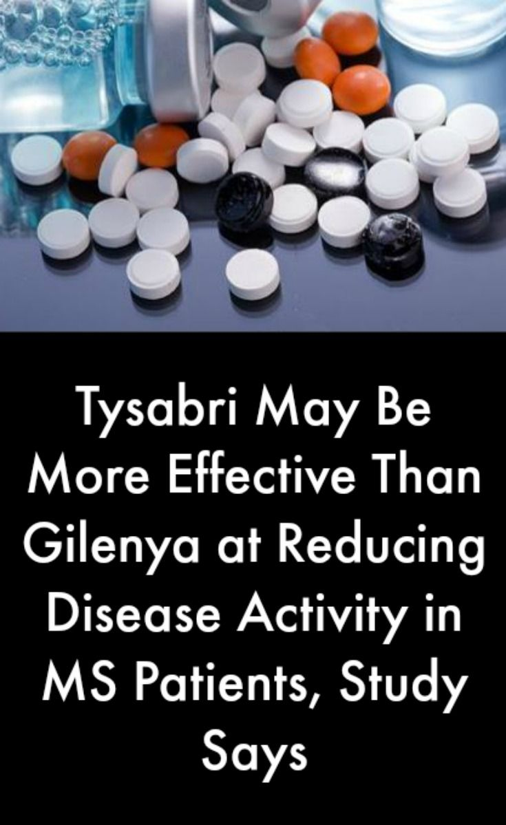 Tysabri May Be More Effective Than Gilenya at Reducing Disease Activity in MS Patients, Study Says #MultipleSclerosisNews