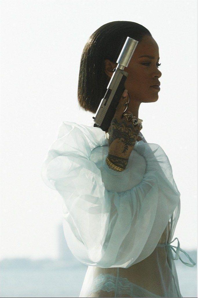 Spoiler: It's full of bums, guns, and Queen Rihanna.