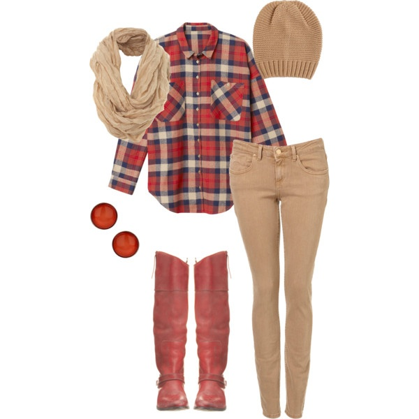Flannel Fashion: I think I could rock this :)