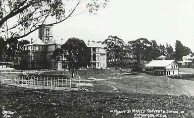Mount St Marys College and Convent in Katoomba in the Blue Mountains region of New South Wales in 1930.