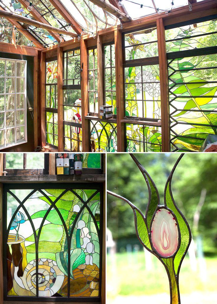 Cabin Glass Window : Inspiring workspaces neile design window and cabin