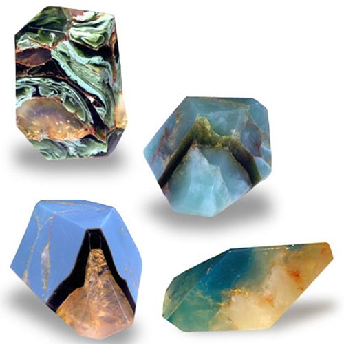 gems ~I feel, as a rock nerd, it is my place to point out that these are actually soap. Still awesome, but soap.