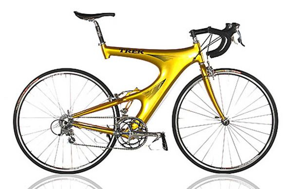 """TREK Y-Foil  Frame: Carbon varnished Bicycle gearing: 2×9 Brakes: Rim Side Pull / Rim Side Pull Tyres: 28"""" Wired Tyre / 28"""" Wired Tyre Weight: 20,72 lbs"""