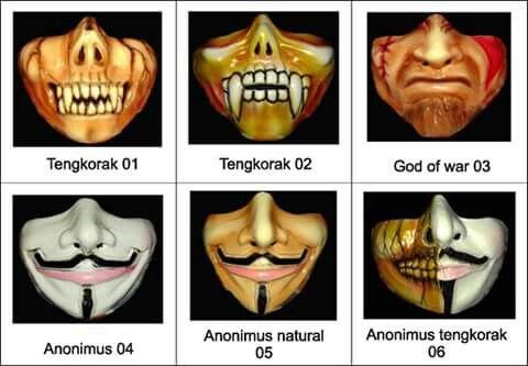 #masker #mask #aksesoris #aksesorismotor #java