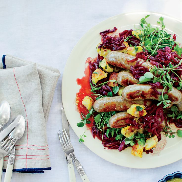Red Cabbage And Fried Mortadella Okonomiyaki Recipes: 91 Best Sausages Images On Pinterest