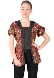 BATIK SEMAR  BATIK SEMAR Blouse Batik Printing Red