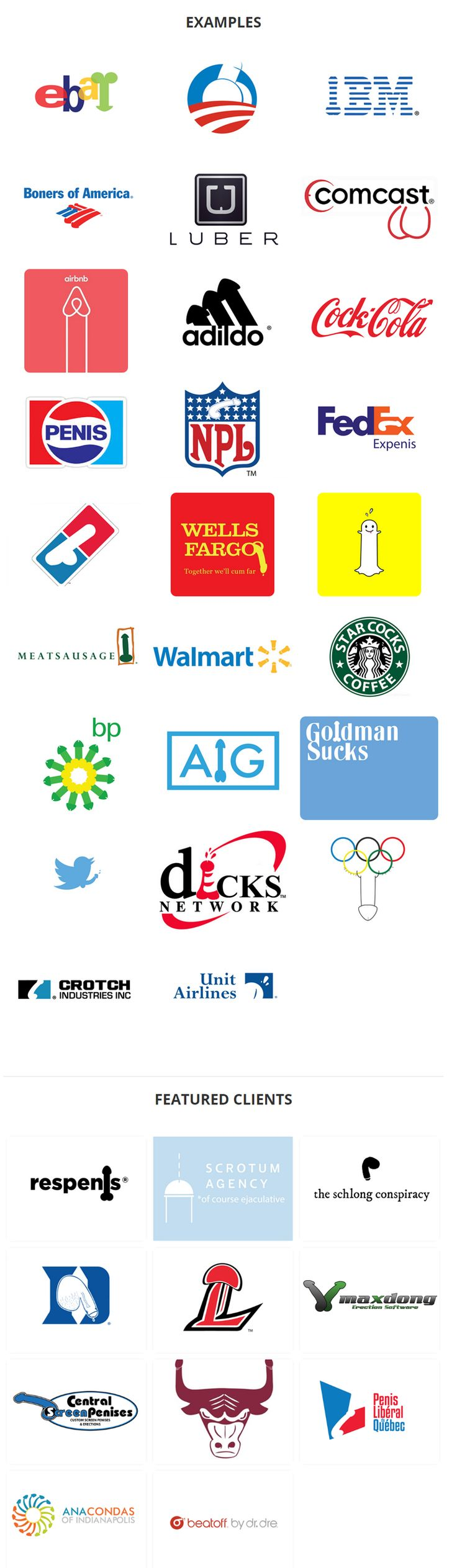 Nominated: The Worst Logo Variation Series of 2015 | StockLogos.com