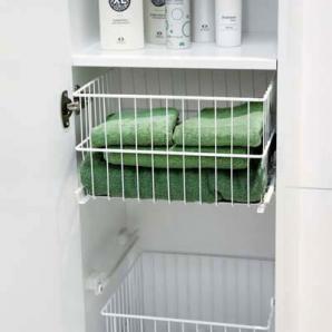 Svedbergs Forma 40, tvättkorg trådkorg | Badhuset