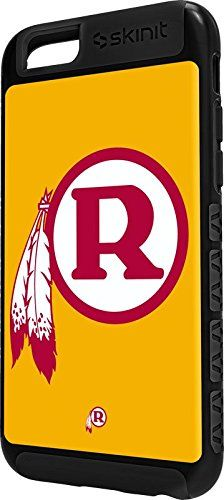 NFL Washington Redskins iPhone 6 Cargo Case - Washington Redskins Retro Logo Cargo Case For Your iPhone 6. Built To Last - Tough iPhone 6 Cargo Case Made With A Double Layer Hard Shell & Rubber Liner Protection. Offically Licensed Washington Redskins Case Design. Industry Leading Vivid Color Vinyl Print Technology. Textured Sidewalls - For Added Comfort & Enhanced iPhone 6 Grip. Precision iPhone 6 Fit - Increasing Protection Without Sacrificing Function.
