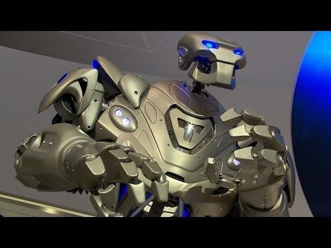 TITAN visits Siemens at Hannover Messe - YouTube