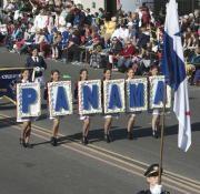 La banda panameña fue la única invitada de Latinoamérica al Desfile de las Rosas. Foto EFE