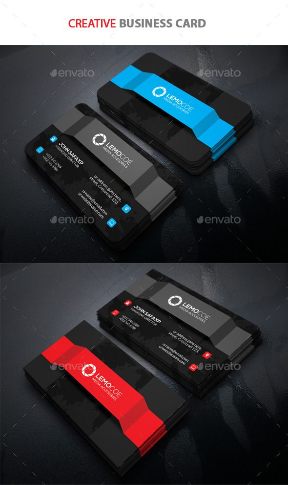 Creative Business Card Template #design Download: http://graphicriver.net/item/creative-business-card/11037357?ref=ksioks