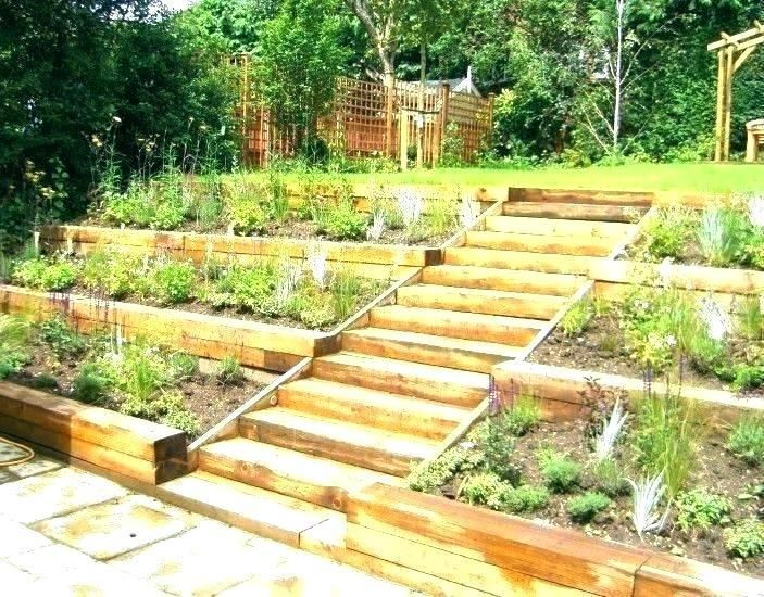 71 Steep Hill Landscape Ideas In 2020 Rustic Landscaping Sloped Garden Large Backyard Landscaping