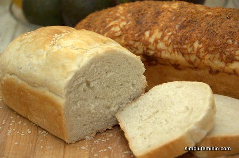 Cea mai simpla paine de casa   Simplu Feminin
