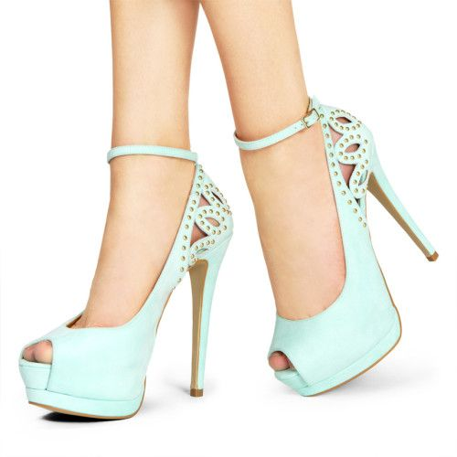 Elegant Mint High Heels
