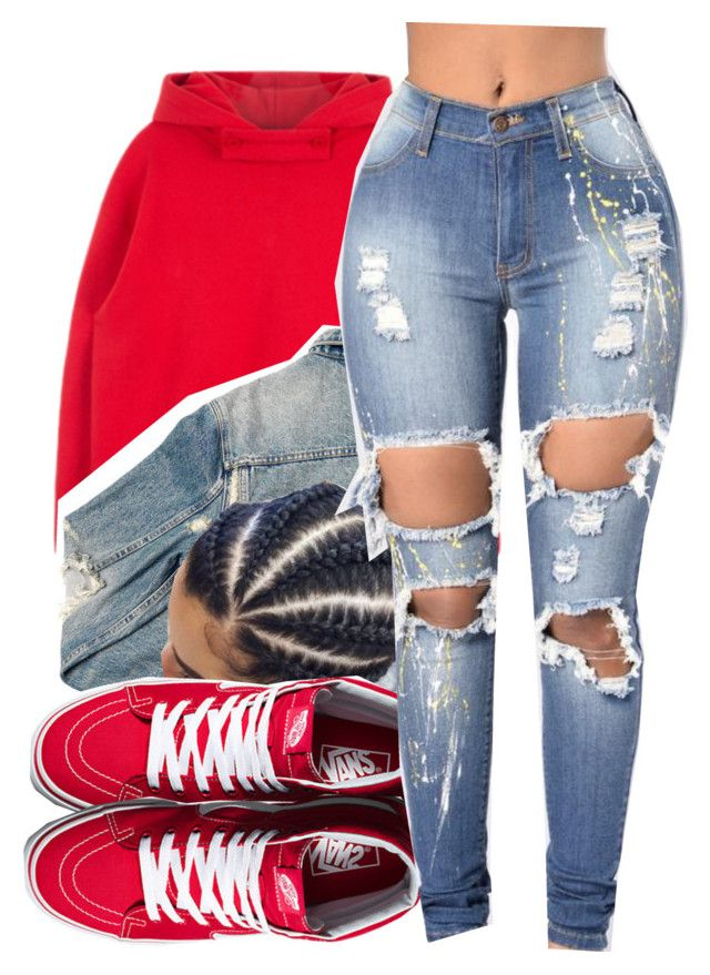 Come over♡️|Aaliyah by maiyaxbabyyy on Polyvore featuring polyvore fashion style Vans AMIRI clothing