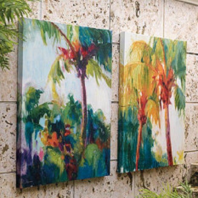 outdoor-tropical-wall-decor.jpg (655×655)