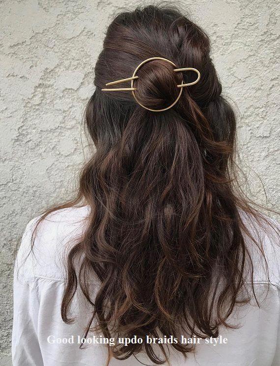 Good Looking Braid Ideas Hairbraids In 2020 Brass Hair Pin Hair Styles Hair Pins