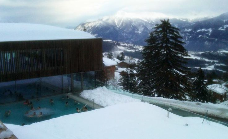 Anzere - family-friendly ski resort in Valais with excellent spa/pool (cheap and open to kids)