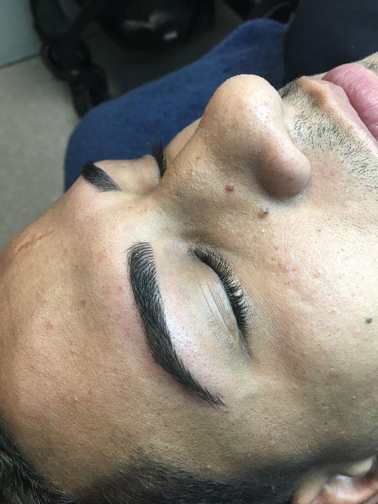 10 best microblading for men images on pinterest eye for Eyebrow tattoo men
