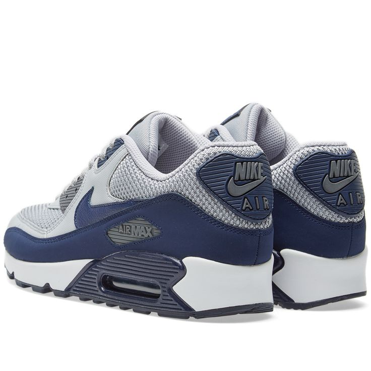 new styles 5f4d3 8f227 ... inexpensive nike air max 90 essential wolf grey binary blue white 03cbe  9031b