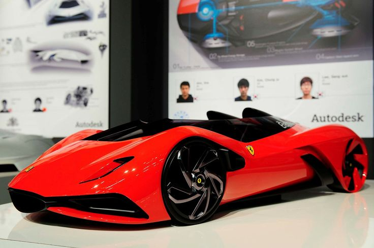 FERRARI ETERNITA Concept 2011  Hit the FOLLOW button - LIKE AND REPIN