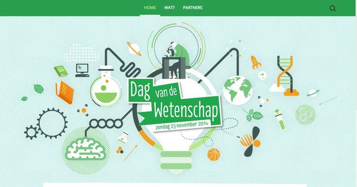 Mooie homepage www.dagvandewetenschap.be