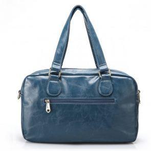 Zimowy kuferek w kolorze modrym