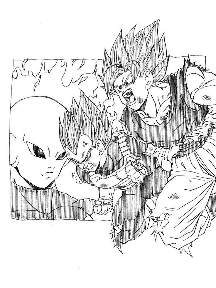 Pin by Itachi Uchiha on Dragón Ball | Dragon ball, Goku vs ...