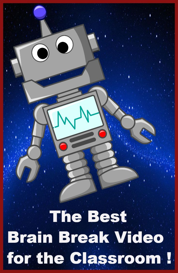 """This is the best classroom brain break ever! Children will love this """"Dancing Robots"""" video, and will dance along following the directions in the song....A must check out!"""