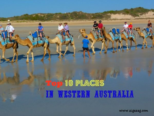 Top 10 places in Western Australia