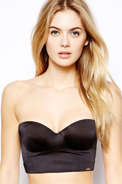 If you're committed to the plunge-back look, keep your bra (and boobs) in place with this low-back strapless number. Ultimo Miracle Low Back Strapless Bra, $60, available at Asos. #refinery29 http://www.refinery29.com/bras-for-backless-dresses#slide-3