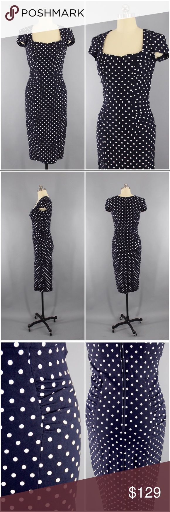 Selling this Retro Polka Dot Dress by Stop Staring size 8/10 on Poshmark! My username is: thisbluebird. #shopmycloset #poshmark #fashion #shopping #style #forsale #Stop Staring #Dresses & Skirts