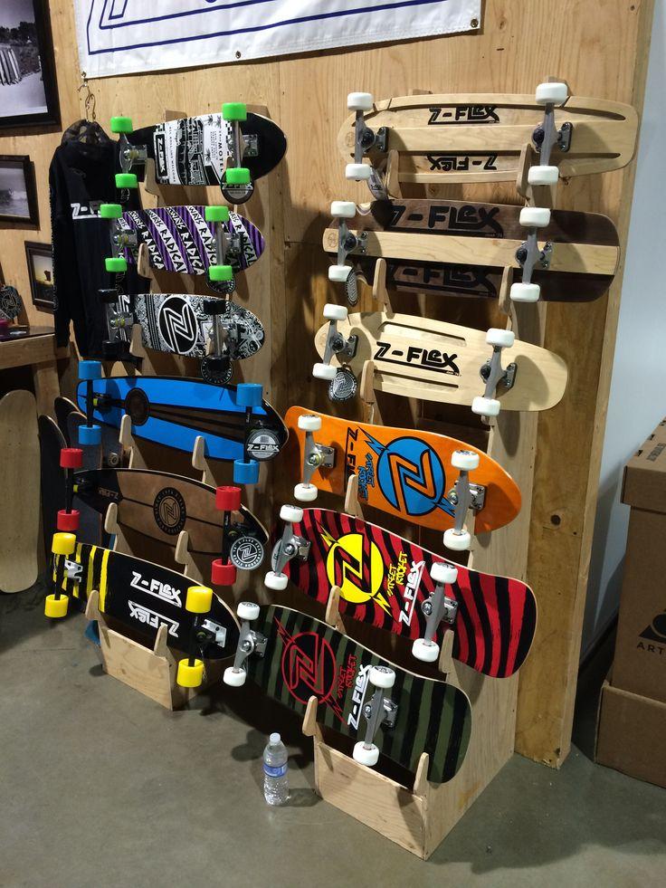 Attractive 2014 Long Beach Agenda Z Flex Booth.skateboard Rack By