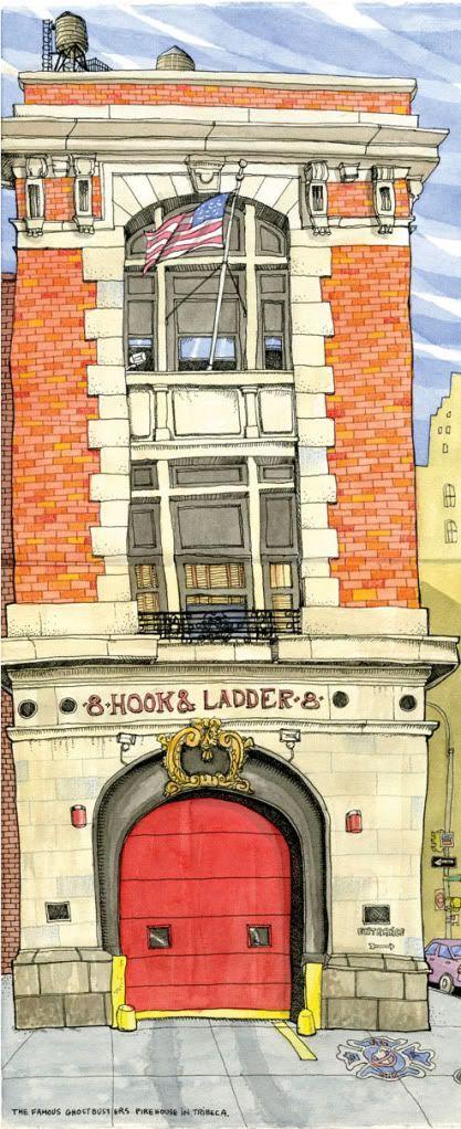 Urban Sketchers: Tommy Kane