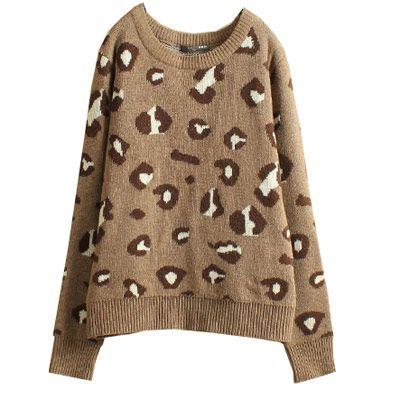 39,90EURLeopardenpullover Pullover mit Leopardendruck