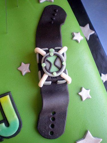 Cake - Ben10 Omnitricks