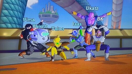 Db xenoverse #taino force#i am in