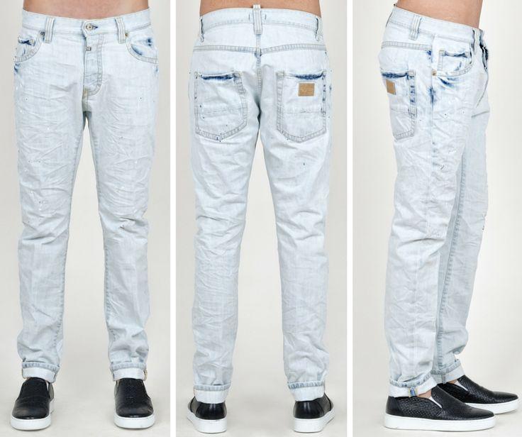 SEVEN 7 Denim - Ανδρικό παντελόνι τζιν με έντονο ξέπλυμα.  #Hip #Hipyourtshirts #Hipyourstyle #Style #New #Womens #Mens #Fashion #7Denim #SevenDenim #Denim #Jeans #AW15 #Collection #Exclusive #Rhodes #Greece
