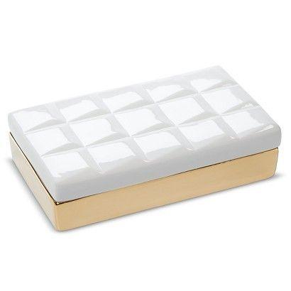Nate Berkus™ Ceramic Geo Box: