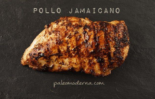 pollo jamaicano paleo