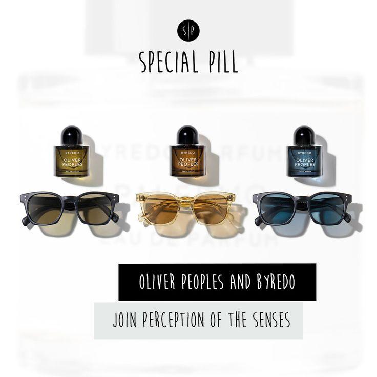 Chi ha detto che gli accessori si abbinano solo con l'abbigliamento?  http://specialpill.tumblr.com/post/127501918857/oliver-peoples-e-byredo-assieme-per-sinestesia-la  #SpecialPill #OliverPeoples  #Byredo #sunglasses #parfums #LosAngeles