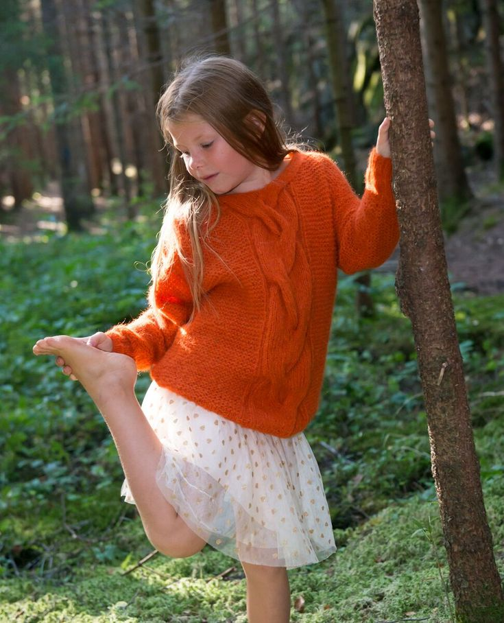 Hug me barnegenser A Knit Story