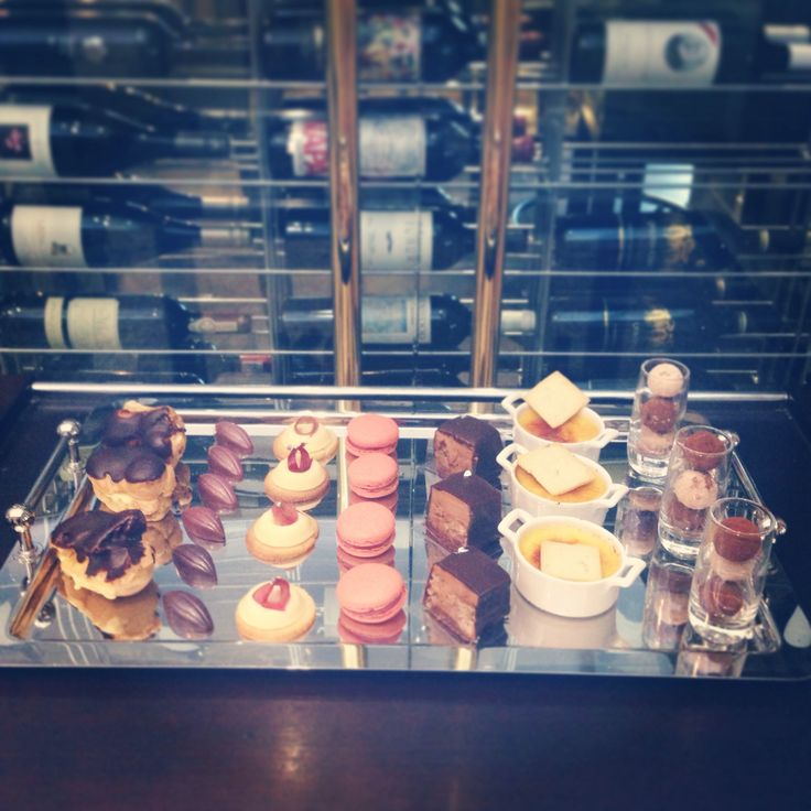 Tasty Dessert Trio or Dessert Buffet options, all prepared by the VC pastry team