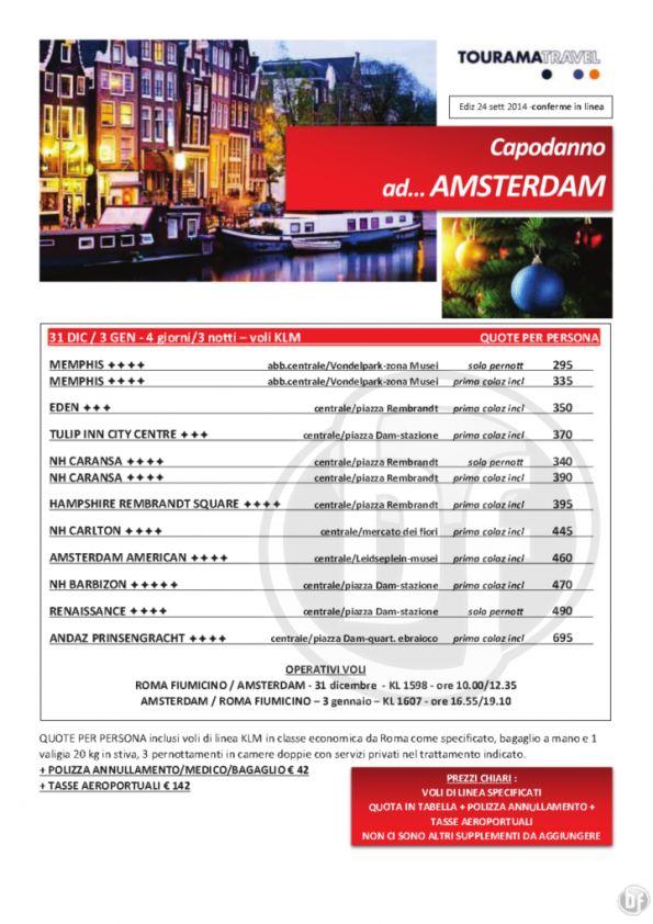 Offerta Speciale Capodanno Amsterdam volo 3nts da Roma By ftravelpromoter #amsterdam #offerta #capodanno #agenteviaggi
