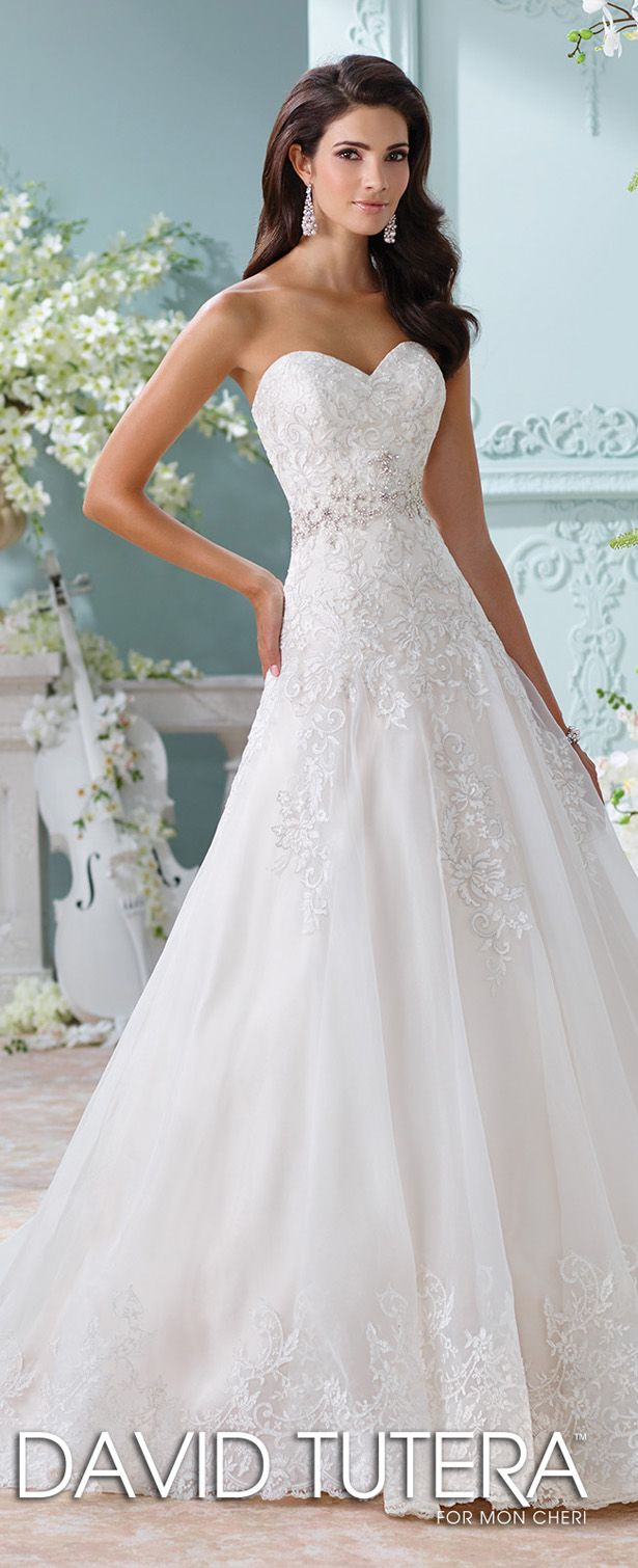 David Tutera for Mon Cheri Spring 2016 Wedding Dress