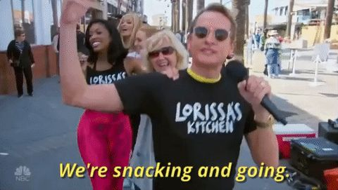 dancing 2016 nbc snacks celebrity apprentice carson kressley #gif from #giphy