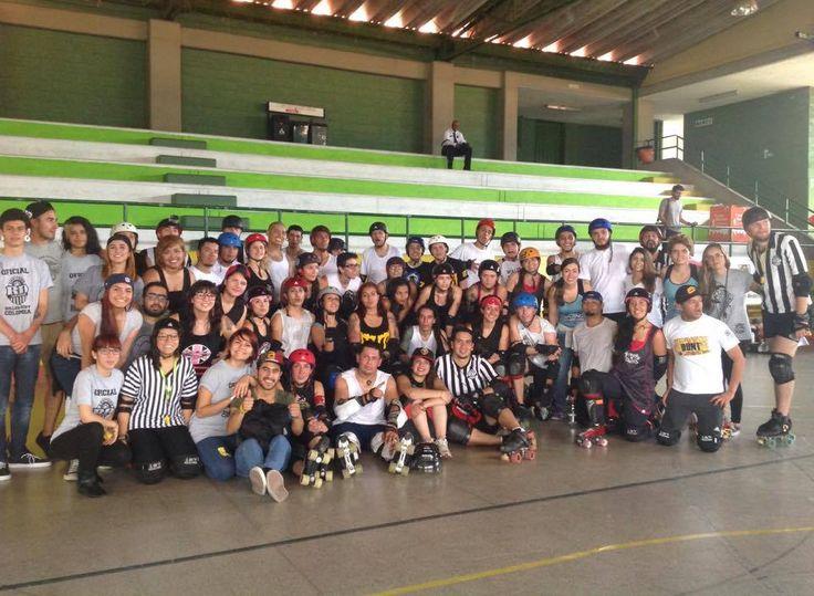 Roller derby Colombia // ARDCOL // Medellín-Antioquia
